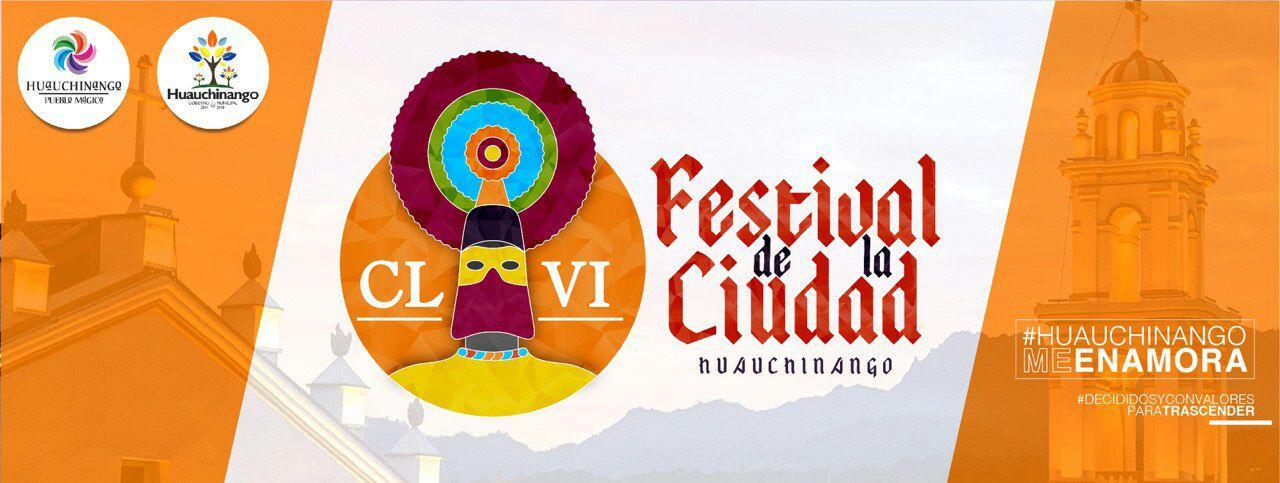 Programa del 156 Aniversario de la Ciudad de Huauchinango